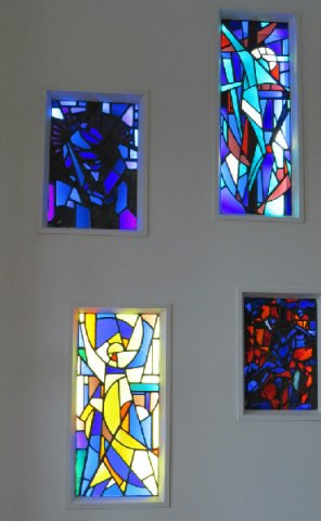 Stained Glass by Des Carrick RHA